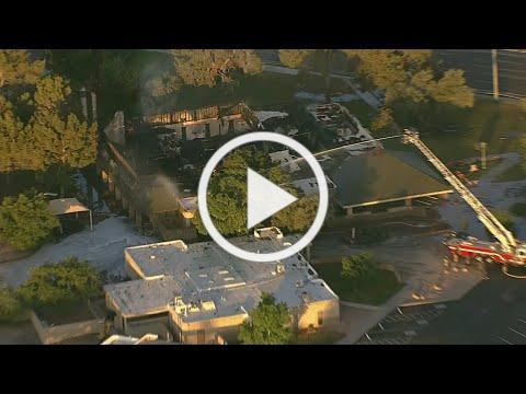 St. Joseph's Catholic Church ravaged by fire in north Phoenix