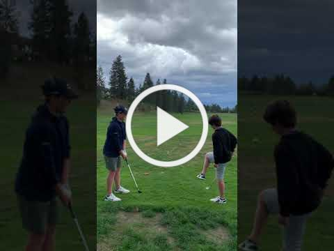Golf juggle and chip!