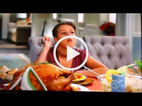 Thanksgiving Electric Knife Scene - Life in Pieces 2017