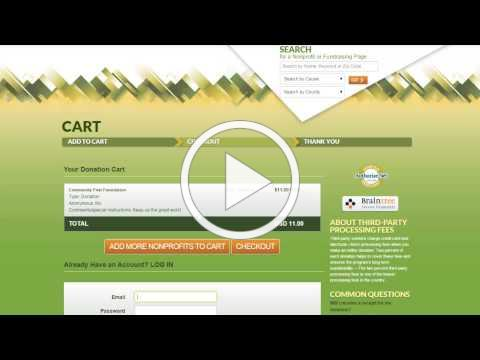How to Make Donation on ColoradoGives.org
