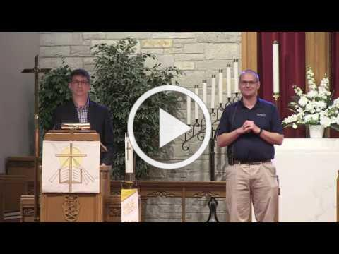 St. John's West Bend - Worship Re-opening Unified Leader's Announcement