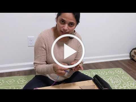 Tzipor Sewing w/ Cardboard