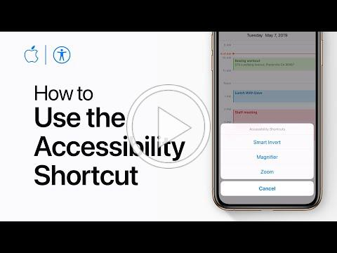 How to use the Accessibility Shortcut on your iPhone and iPad - Apple Support