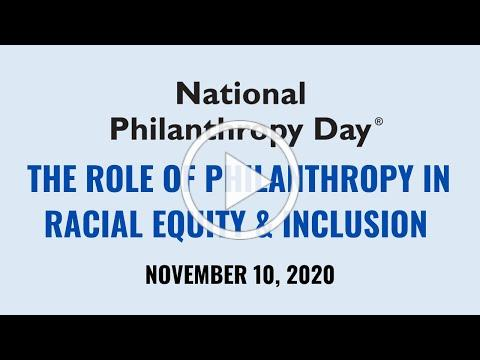 2020 NPD: THE ROLE OF PHILANTHROPY IN RACIAL EQUITY AND INCLUSION