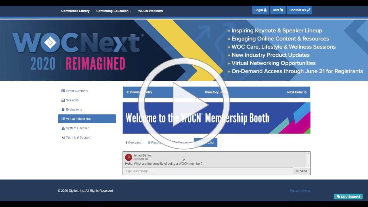 WOCNext 2020 Reimagined | Online Event | Virtual Exhibit Hall | Conference | WOCN
