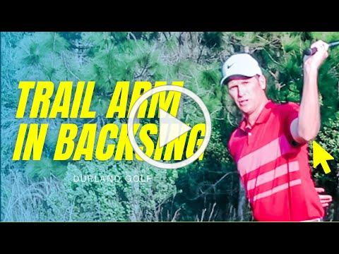 GOLF TIP | How To Use The Trail Arm In The Backswing