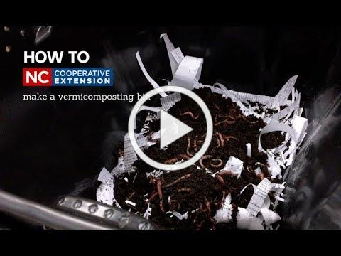 How To: Vermicomposting