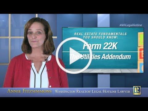 Form 22K - The Utilities Addendum