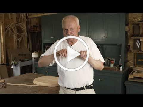 Using the Spokeshave in Windsor Chairmaking