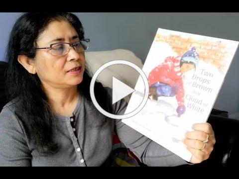 Two Drops of Brown in a Cloud of White by Saumiya Balasubramaniam