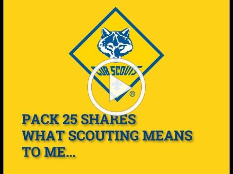 Pack 25 Scouting to me