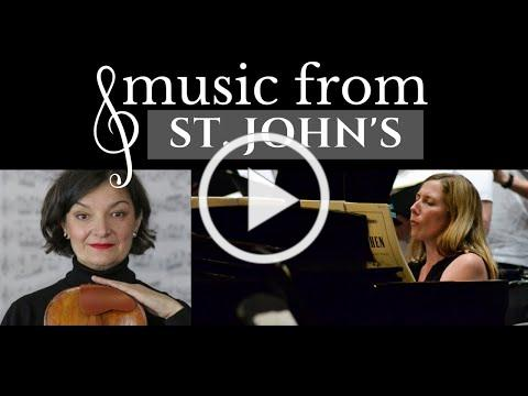 Music from St. John's | Ruxandra Marquardt & Amy Greer