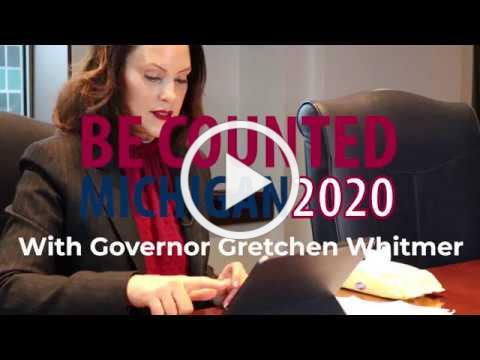 Governor Whitmer Completes Census Form - Encourages You to Help Your Community Today!