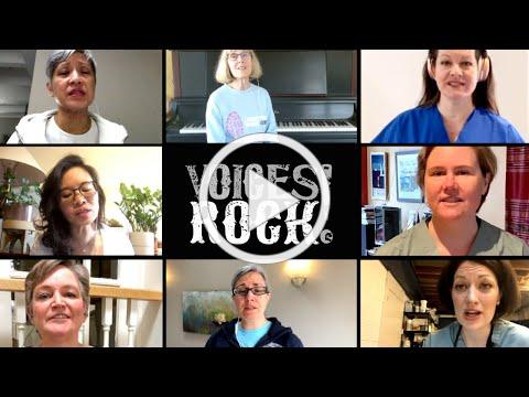 Choir of Women Physicians sings RISE AGAIN (virtually)
