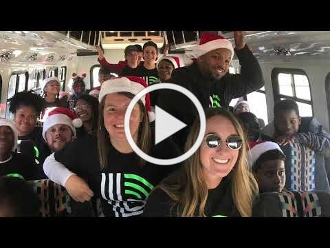 Cabarrus BBBS 2018 Concord Christmas Parade