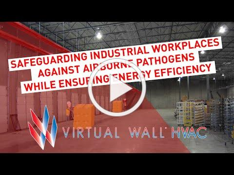 Safeguarding Industrial Workplaces Against Airborne Pathogens While Ensuring Energy Efficiency