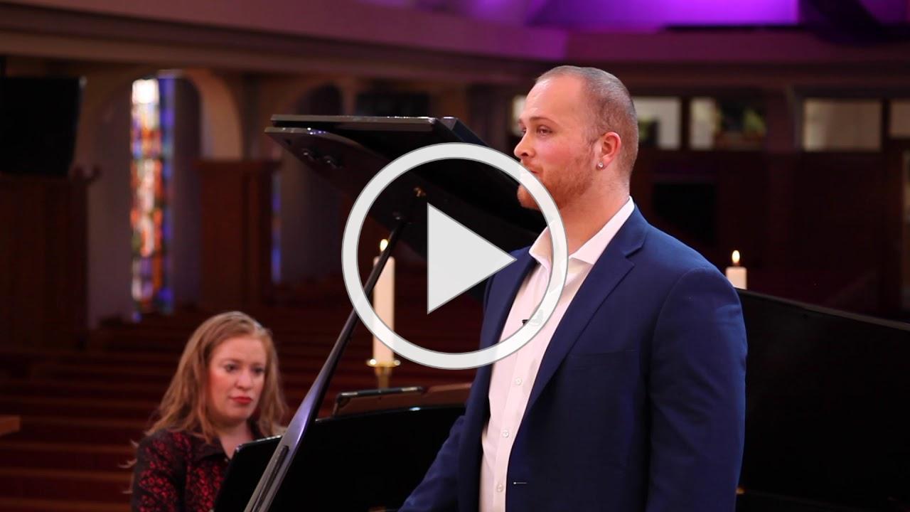 """Jonathan Patton & Kristin Ditlow - """"Mache dich, mein Herze, rein"""" by J.S. Bach"""