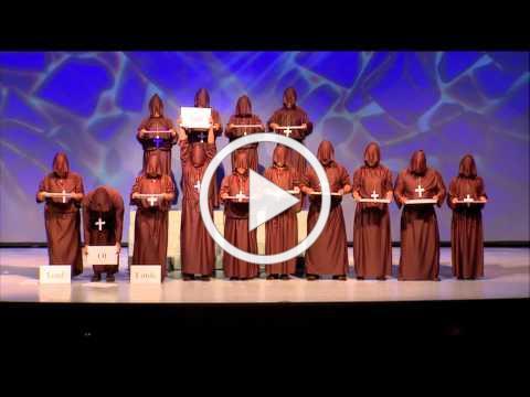 """New Hope Oahu: """"Hallelujah Chorus"""" - Silent Monks"""