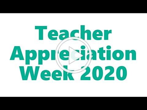 Thank You Teachers! This is Why YOU Teach TAW2020