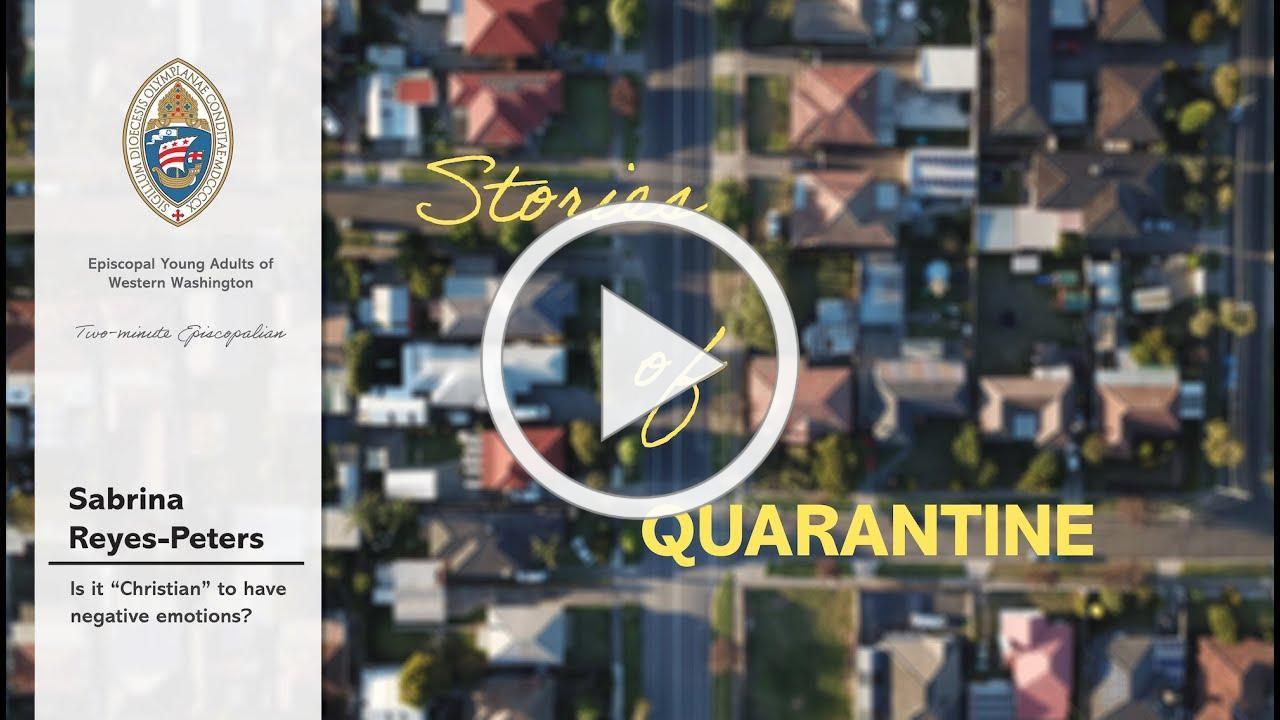 Stories of Quarantine: Sabrina Reyes-Peters