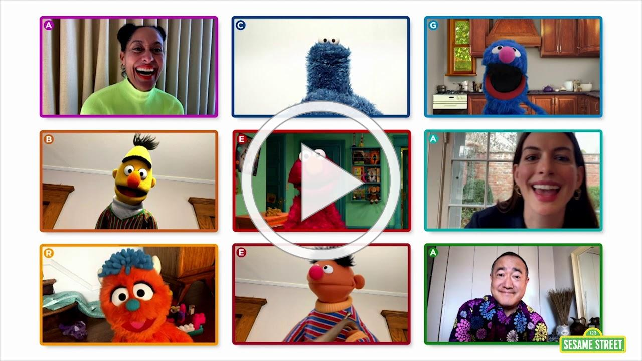 Sesame Street: Elmo's Playdate Preview #CaringForEachOther