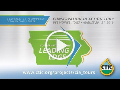 Join the 2019 Conservation in Action Tour! Des Moines, Iowa
