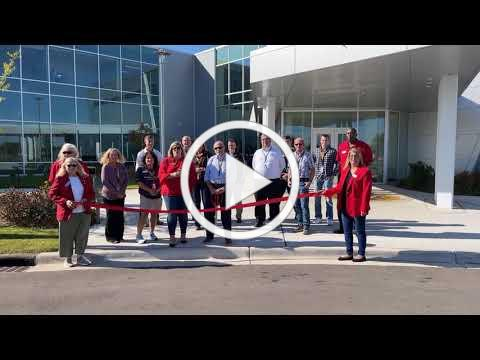 Ribbon Cutting Celebration at Western Michigan University's College of Aviation