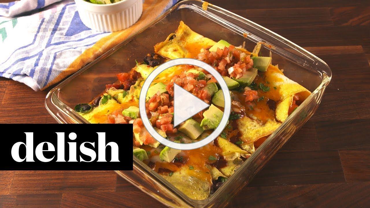 How to Make Low-Carb Breakfast Enchiladas | Recipe | Delish