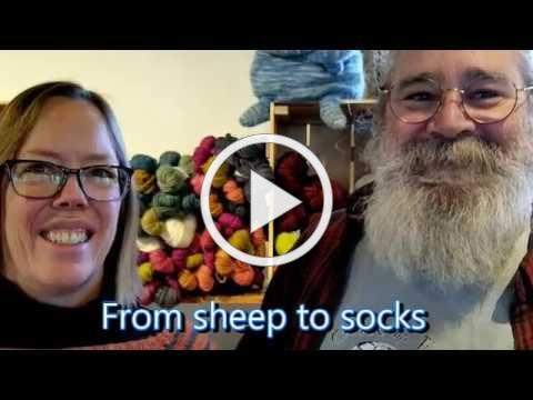 From sheep to socks
