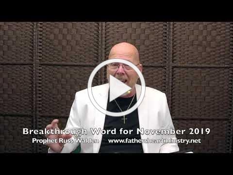 Breakthrough Word for November 2019