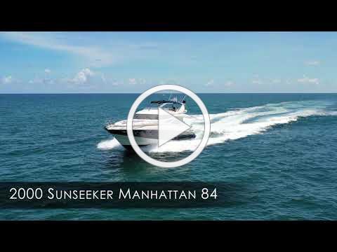 2000 Sunseeker 84 Manhattan Motor Yacht