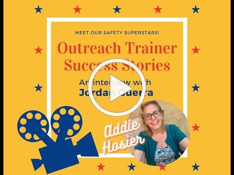 Outreach Trainer Success Stories with Addie Hosier: Jordan Guerra