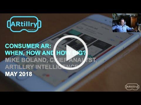 ARtillry Workshop: Consumer AR By The Numbers