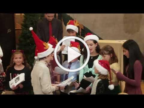 2018 Christmas Village, Italian Language Program Presentation