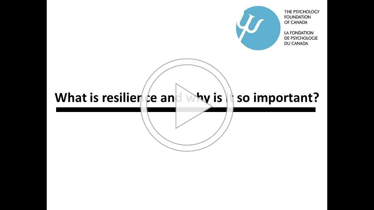 Resilience Video Feb Newsletter