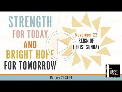 11-22-2020 Sunday Service for Open Door Churches of Salem and Keizer (UMC)