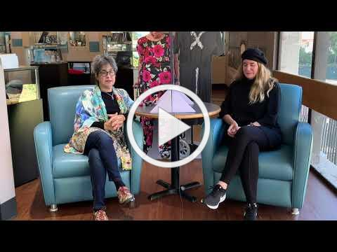 Elizabeth Tobias talks with Sandra Scheller in Our Lives Our Future