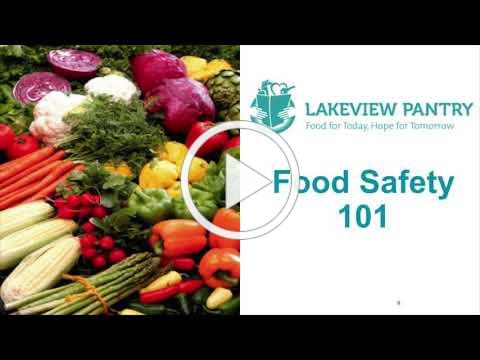 Lakeview Pantry - Food Safety Video
