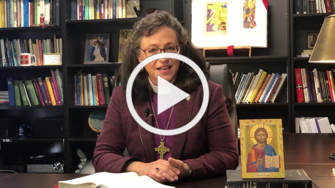Holy Week @ Home: A pastoral message from Bishop Megan Traquair