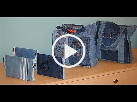 Janet Pray Creates a Denim Clutch on It's Sew Easy (313-3)