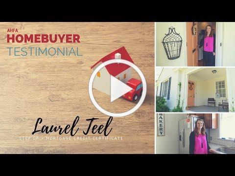 Homebuyer Testimonial: Laurel Teel, Montgomery