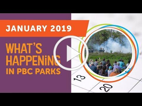What's Happening in PBC Parks: January 2019