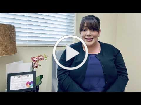Human Options Residential Hotline Supervisor, Loren Sedano