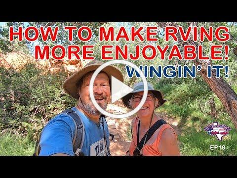 Our TOP TIP For Making RVing Even More Enjoyable! | Wingin' It!, Ep 18