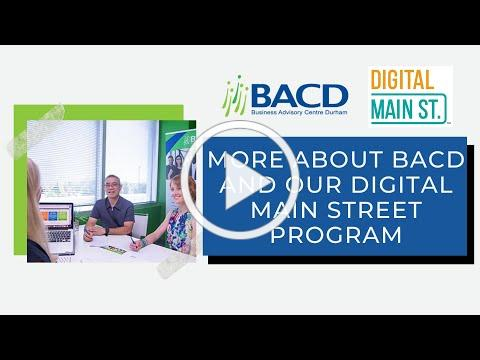 Introduction to BACD and Digital Main Street Program
