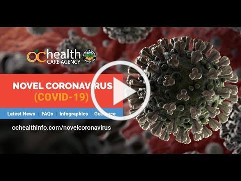 OC Health Care Agency's Public Service Announcement - COVID-19 #OCCOVID19