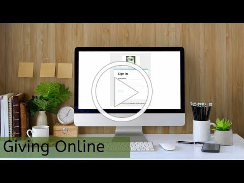 Online Giving from your Computer