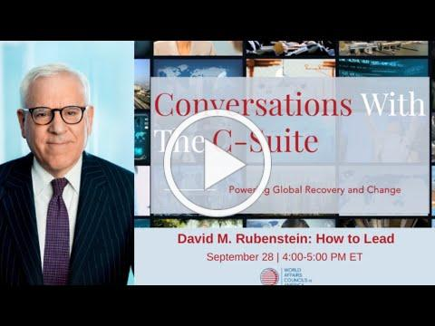 2020 Conversations With The C-Suite | How to Lead