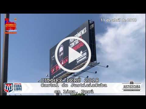 Cumbre Perú 2018 - Todos por Cuba Libre III