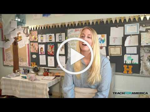 HHA Teacher Kat Lock-Jones Receives TFA 2019 Kennedy Leadership Award